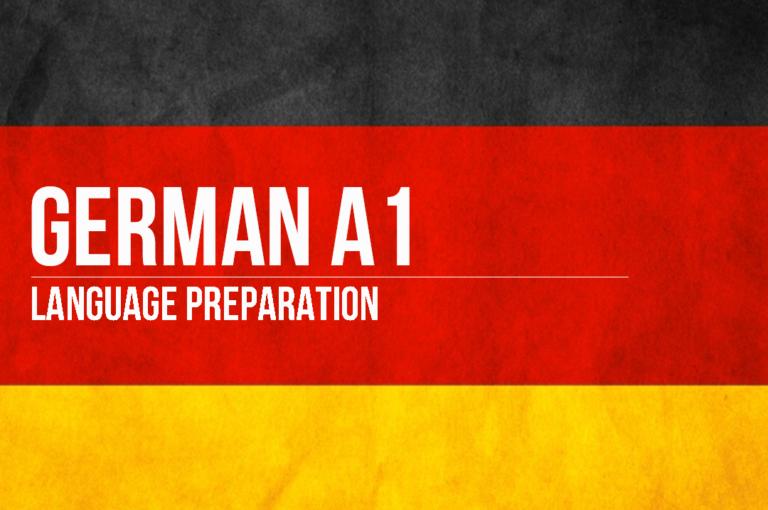 German A1 Preparation